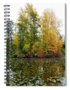 Fall In Kaloya Park 10 Spiral Notebook