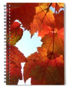 Fall In Love With Autum Spiral Notebook