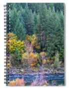 Fall In Spokane Spiral Notebook