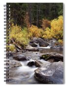 Fall In The Grand Tetons Spiral Notebook