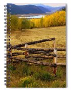 Fall In The Rockies 2 Spiral Notebook