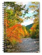 Fall In The Smokey Mountains  Spiral Notebook