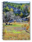 Fall In The Texas Hill Country Spiral Notebook