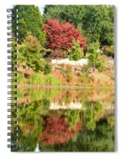 Fall Tree -loganville Georgia Spiral Notebook