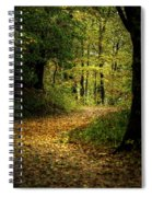 Fall Is Just Around The Corner Spiral Notebook