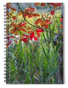Fall Is Upon Us Spiral Notebook
