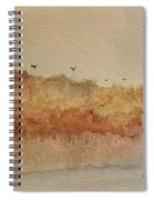 Fall Lake Spiral Notebook