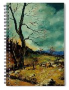Fall Landscape 56 Spiral Notebook