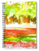 Fall Leaves Trees 2 Spiral Notebook