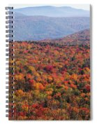 Fall Mountains #3 Spiral Notebook