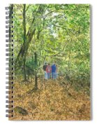 Fall Nymphs - IIi Spiral Notebook