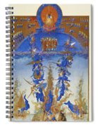 Fall Of Rebel Angels Spiral Notebook