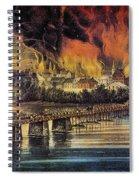 Fall Of Richmond, 1865 Spiral Notebook