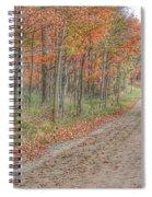 9018 - Fall On Murphy Lake Iv Spiral Notebook