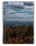 Fall On The All American Road Spiral Notebook