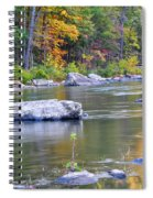 Fall On The Maury Spiral Notebook