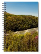 Fall On The Shenandoah River - West Virginia Spiral Notebook