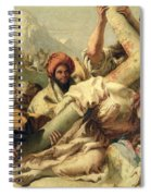 Fall On The Way To Calvary Spiral Notebook