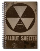 Fall Out Shelter Spiral Notebook