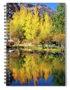 Fall Reflections At The Double Eagle Spiral Notebook