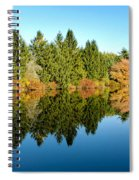 Fall Reflections II Spiral Notebook