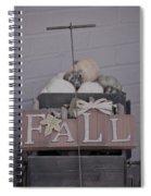 Fall S/c Spiral Notebook