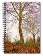 Fall Season At Its Best Spiral Notebook