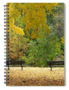 Fall Series 12 Spiral Notebook