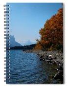 Fall Shoreline. Spiral Notebook