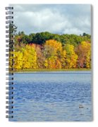 Fall Splendor Spiral Notebook
