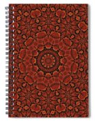 Fall Splendor Mandala Spiral Notebook