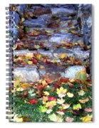 Fall Stairway Spiral Notebook