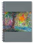 Fall Sun Spiral Notebook