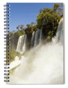 Fall To The Rainbow Spiral Notebook