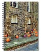 Fall Walkway  Spiral Notebook