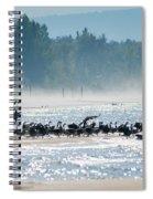 Fall Wasaga Beach Spiral Notebook