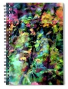 Fall Watercolor Spiral Notebook