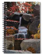 Fall Waterfall Spiral Notebook