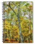 Fall Yellow Spiral Notebook
