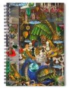 The Evil Trick Spiral Notebook