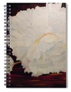 Fallen Begonia Spiral Notebook