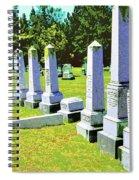 Fallen Spiral Notebook