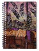 Fallen Feathers  Spiral Notebook