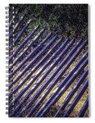 Fallen Fence Spiral Notebook