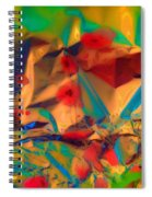 Falling Asleep In The Poppies Spiral Notebook