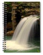 Falling Falls Spiral Notebook