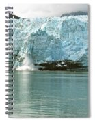 Falling Ice 8421 Spiral Notebook