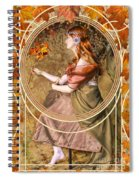 Falling Leaves Spiral Notebook