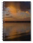 Falling Sky Spiral Notebook