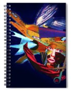 Falling To Pieces Spiral Notebook